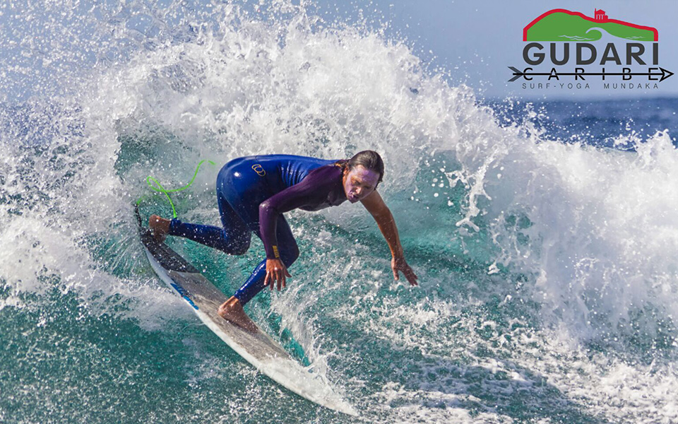 Dropping the waves, Gudari Caribe Surf Lessons