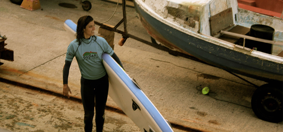 Happiness Standup paddleboarding in Mundaka