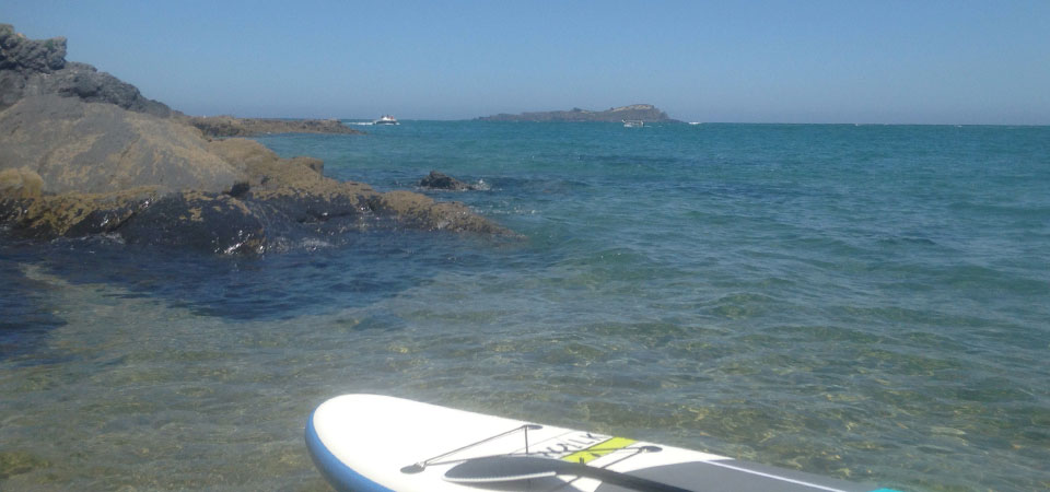 Paddle rides on the coast of Mundaka 2