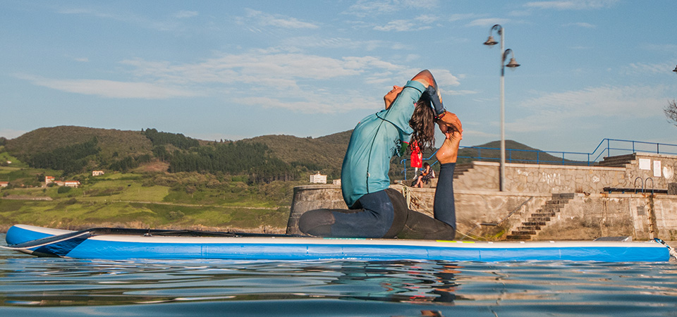 Paddle Pilates and Yoga in Mundaka
